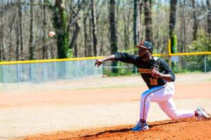 Jordyn Thomas Tuskegee Baseball Pitcher