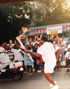 Frank Johnson Carrying the Torch e1491309242406
