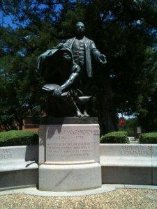 Booker T. Washington Statute Lifting the Veil