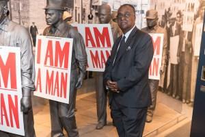 Dr. Charles Steele I AM MAN Memphis Museum photo