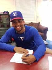 Brandon Baker Texas Rangers