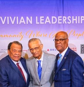 C T Vivian Andrew Young and Calvin Smyre
