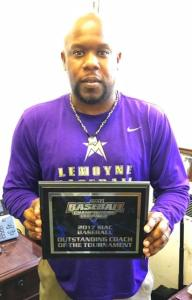 Marcus Smith with Outstanding Coach Award