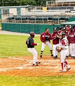 Tuskegee Morehouse Baseball Grant Bennett Homer Run