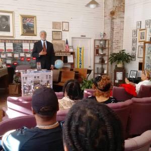 Harold Michael Harvey Speaking at Noble Hill Wheeler Center 2 28 16