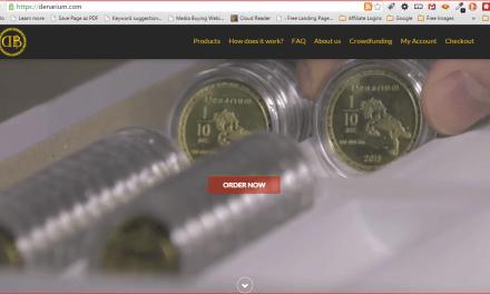 Denarium Launches Physical Bitcoins