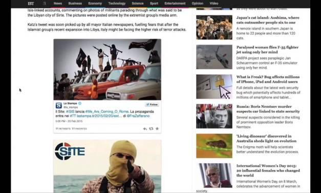 Italians Show World How to Deflate Terror Propaganda