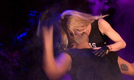 Madonna Kissing Drake Coachella 2015