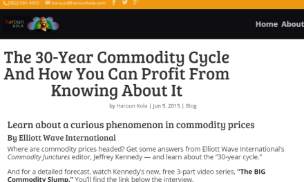 The 30-Year Commodity Cycle And How You Can Profit From Knowing About It