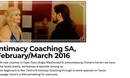 Intimacy Coaching South Africa Learning How To Awaken & Renew Intimate Relationship With Yourself and Your Partners