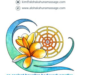 Kahuna Massage in Kommetjie Cape Town with Kim Thacker