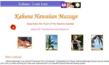 De Stress Refuge Kahuna Massage in Blairgowrie