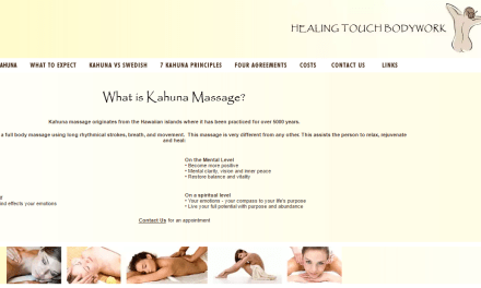 Kahuna Massage with Abe Strauss