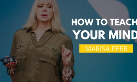 How To Teach Your Mind That Everything Is Available To You By Marisa Peer