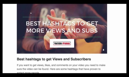 How to get more views and subscribers to your YouTube video