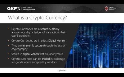 Foundations of Crypto Trading. A Webinar by GKFX