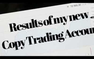 My Copy Trading Account Is Now Profitable