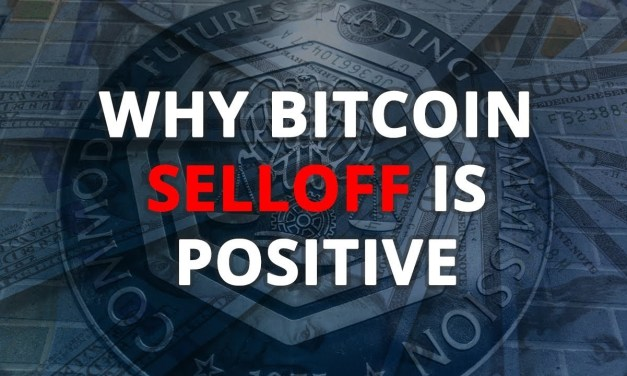 Why the Bitcoin Crash Selloff is Positive and What to Do About it