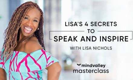 Discover the secret to Powerful Communication. A Masterclass from a world-class orator Lisa Nichols