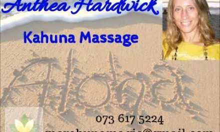 Kahuna Massage with Anthea Hardwick on Body&Mind
