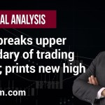 Gold breaks upper boundary of trading range and prints a new high