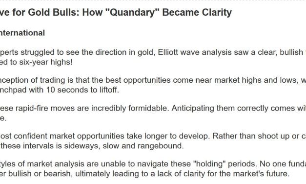 "Summer of Love for Gold Bulls: How ""Quandary"" Became Clarity"