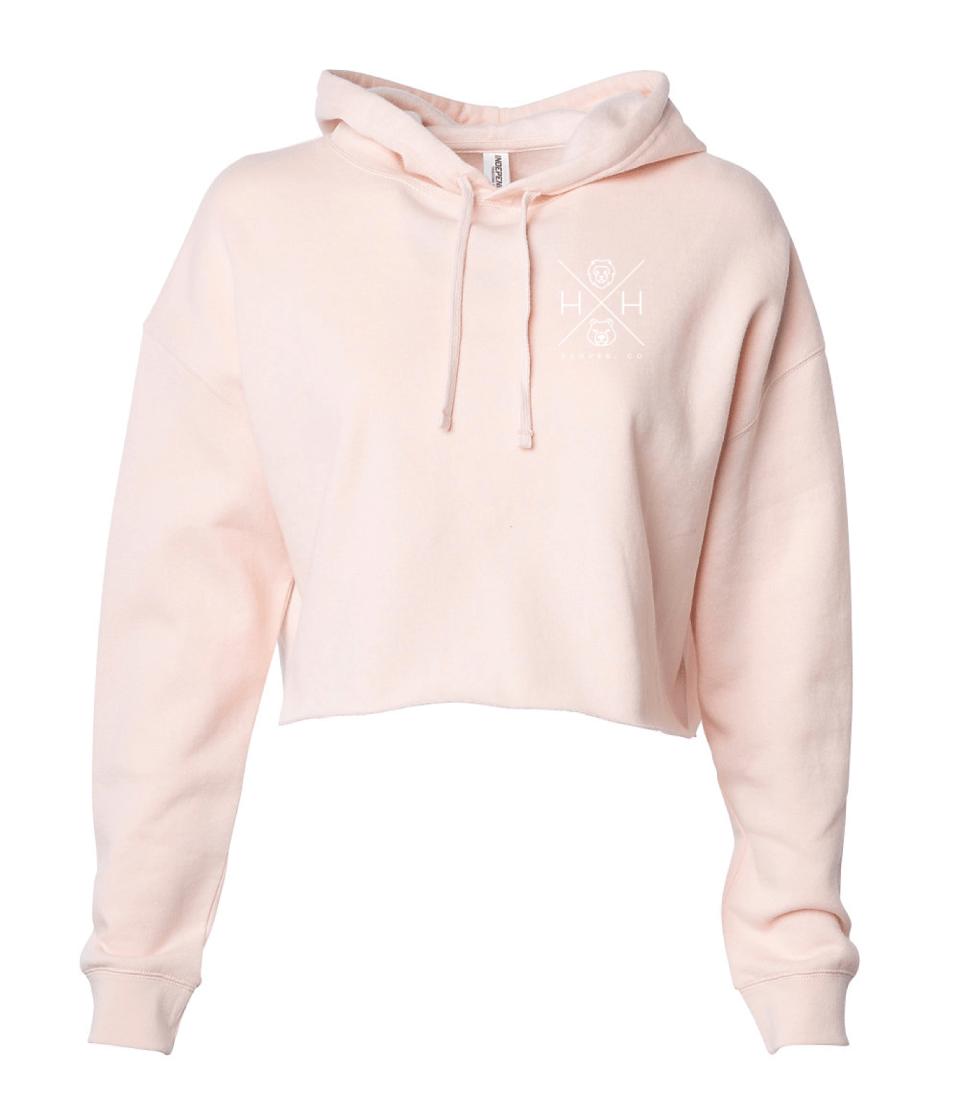 Women's Crop Sweatshirt Blush