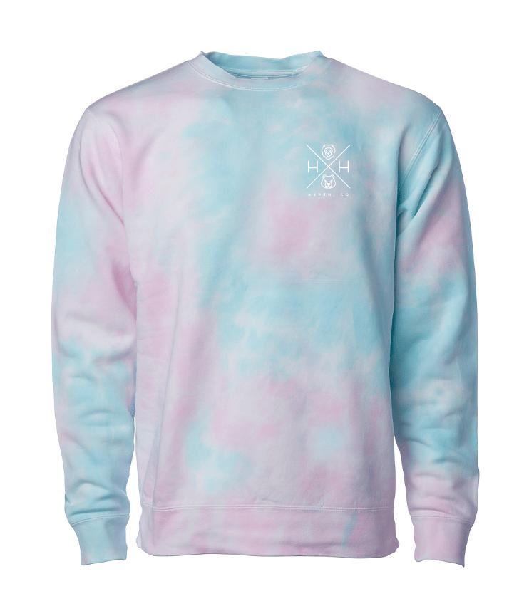 Cotton Candy Crew Sweatshirt