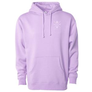 Lavender Hoodie Sweatshirt