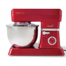 robot petrin 6 vitesses multifonction xl kitchen machine red