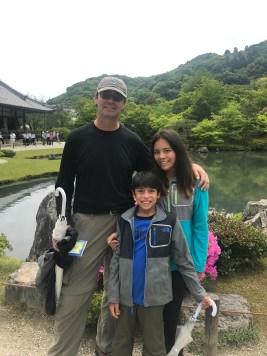 Gardens at Tenryu-ji Temple