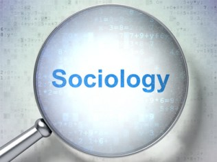 Studying concept: Sociology with optical glass