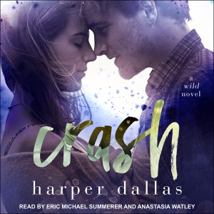Cover of CRASH audiobook