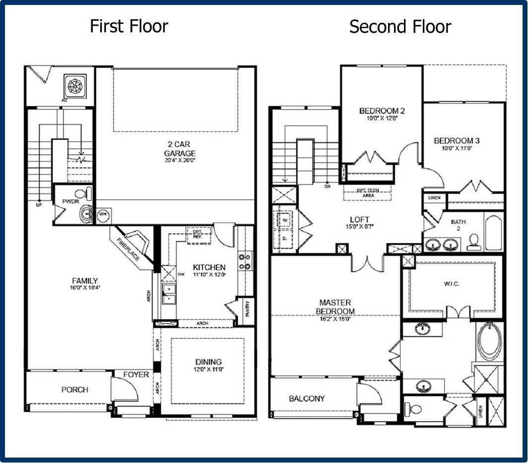 Simple 2 Storey House Plans Novocom Top