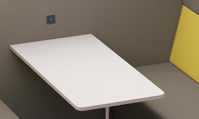 image of pod charging accessory available from Harper Office Workspace Design
