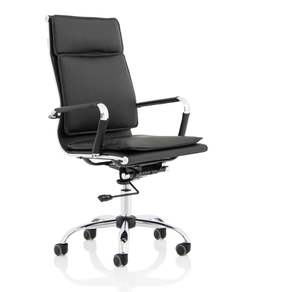 Picture of black apollo chair in the office chairs range
