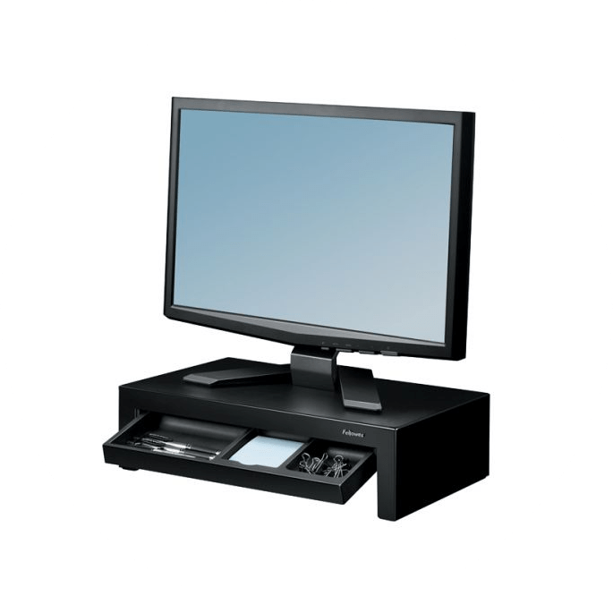 image of monitor stands to display one part of workspace design accessories