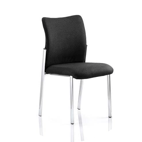 Picture of black stacking chair in the office chairs range