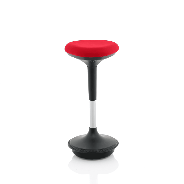 Picture of red stool in the office chairs range