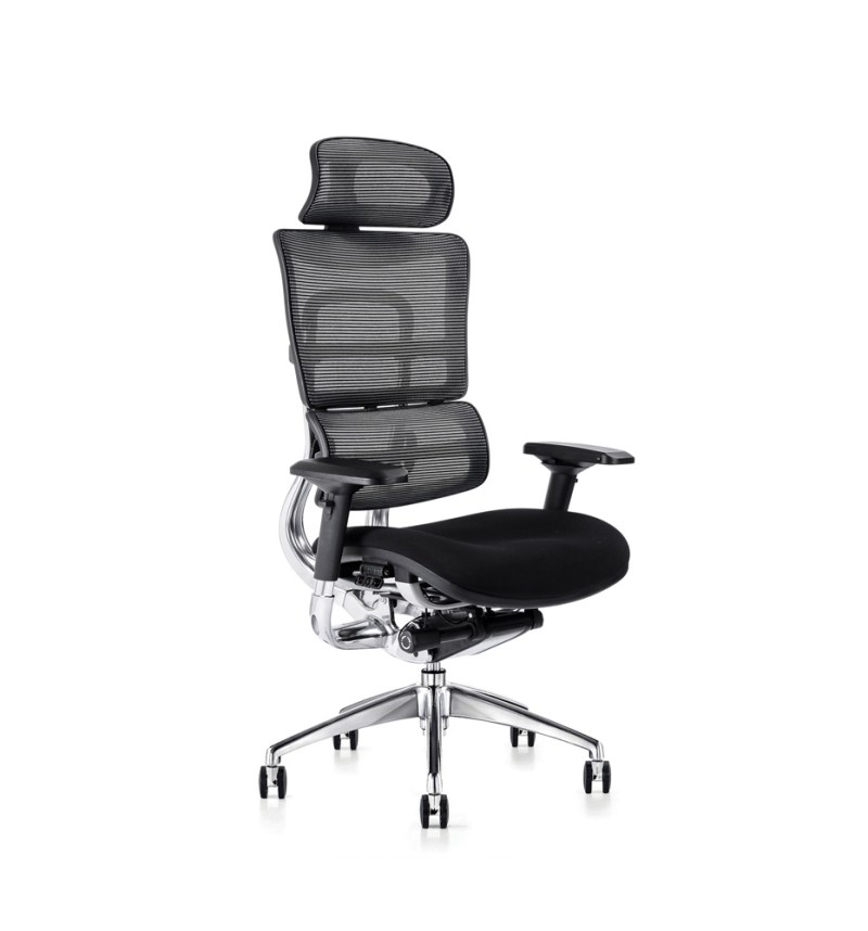 i29 ergonomic chair with fabric seat and executive headrest