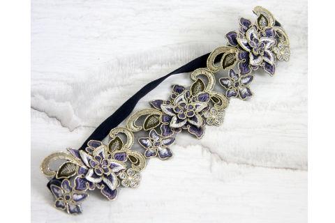 Secret Garden wedding headband