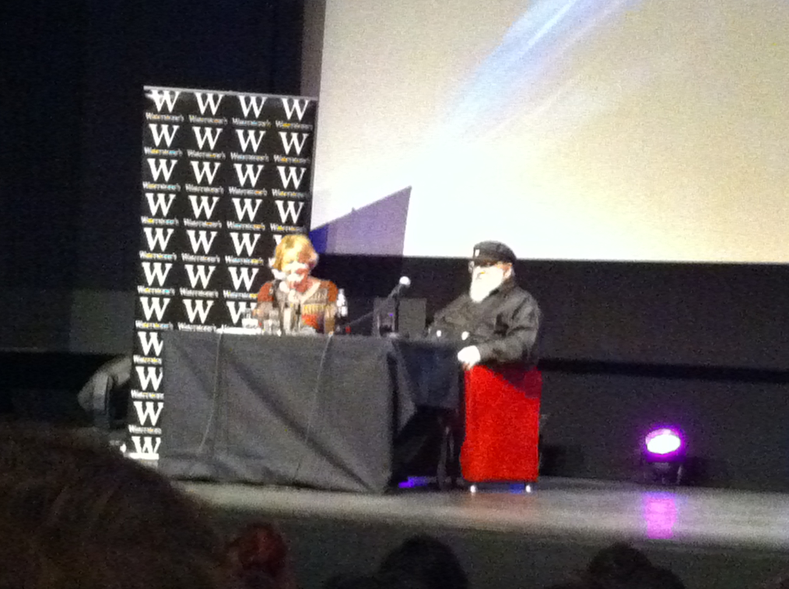 GRRM in conversation with UK publisher Jane Johnson