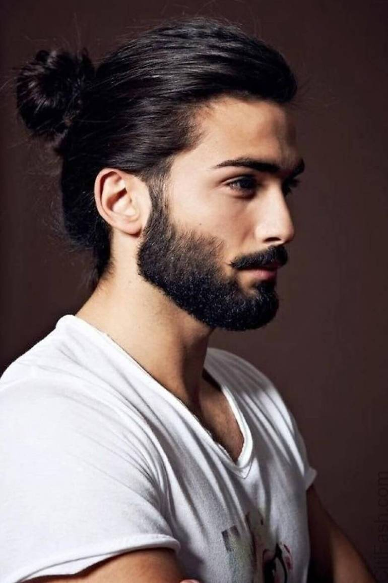Man Bun Long Hairstyles For Men - Harpmagazine.com