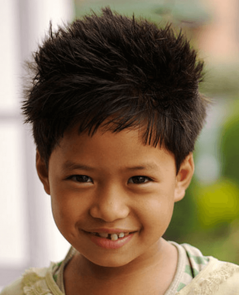 A Spiky Updo Hairstyle Kids Hairstyles