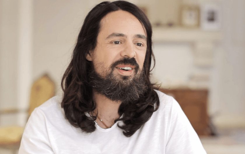 Long Hairstyled for men Alessandro Michele