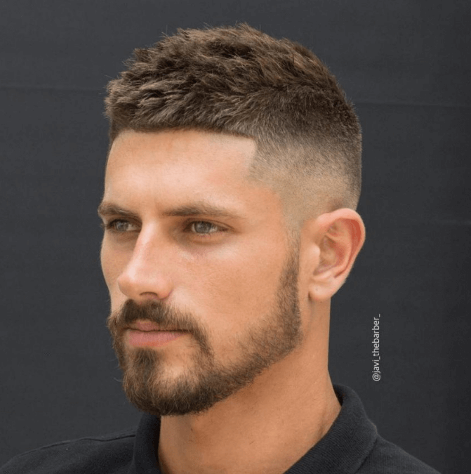 Lovely Crew Military Haircut