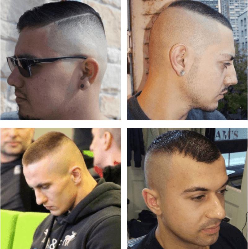 Military High and Tight Haircut