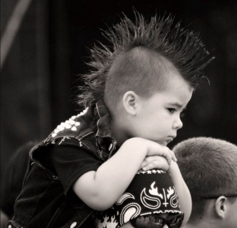 The Punk Rock Kid Kids Hairstyles