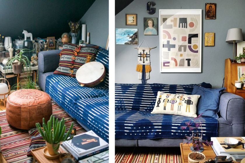Pile on the Textiles For Small Living Room Decorating Ideas