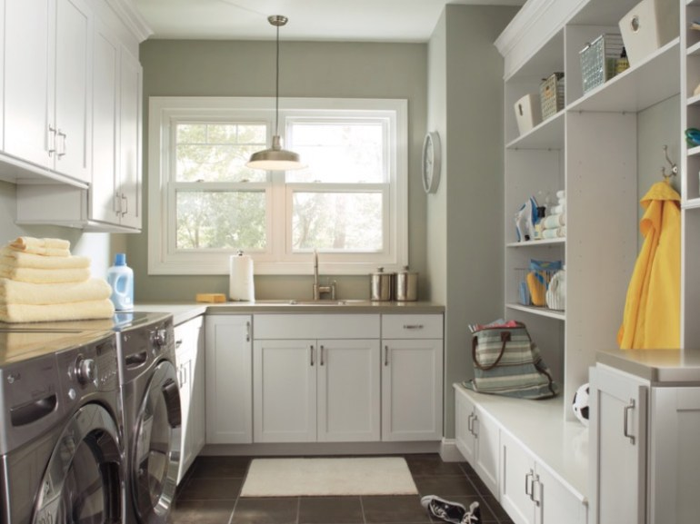 Incorporate Plenty of Storage Small Laundry Room Ideas